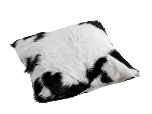Calfhide Cushion Black