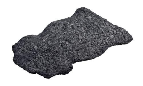 Fårskinnsfäll Charcoal